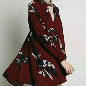 Free People Electric Orchid Swing Tunic